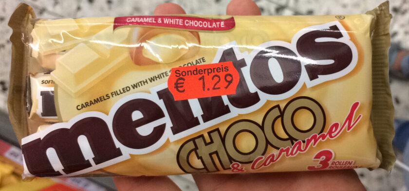 Mentos Choco & Caramel - Product - de