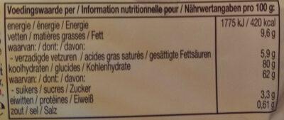 Mentos Choco & Caramel - Voedingswaarden - de