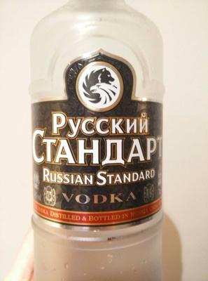 Водка «Русский стандарт» - Product - en