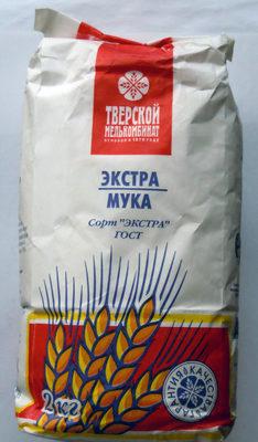 """Экстра мука Сорт """"Экстра"""" ГОСТ - Produit"""