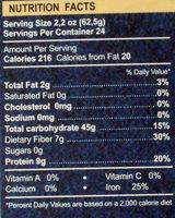 Крупа гречневая алтайская - Nutrition facts - en