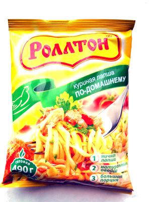 Куриная лапша по-домашнему - Product - ru