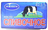 Масло сливочное высший сорт 82,5% - Product
