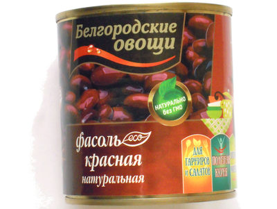 Фасоль красная натуральная - Produit - ru