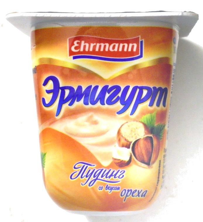 Эрмигурт Пудинг со вкусом ореха - Produkt