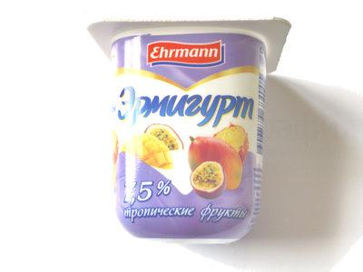 Эрмигурт 7,5 % тропические фрукты - Produkt