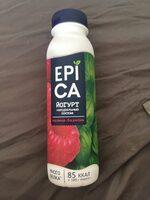 йогурт натуральный состав малина-базилик - Product - ru