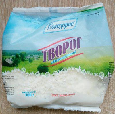 Творог обезжиренный - Produit - ru