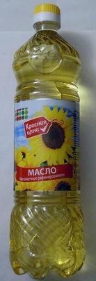 Масло подсолнечное рафинированное - Product