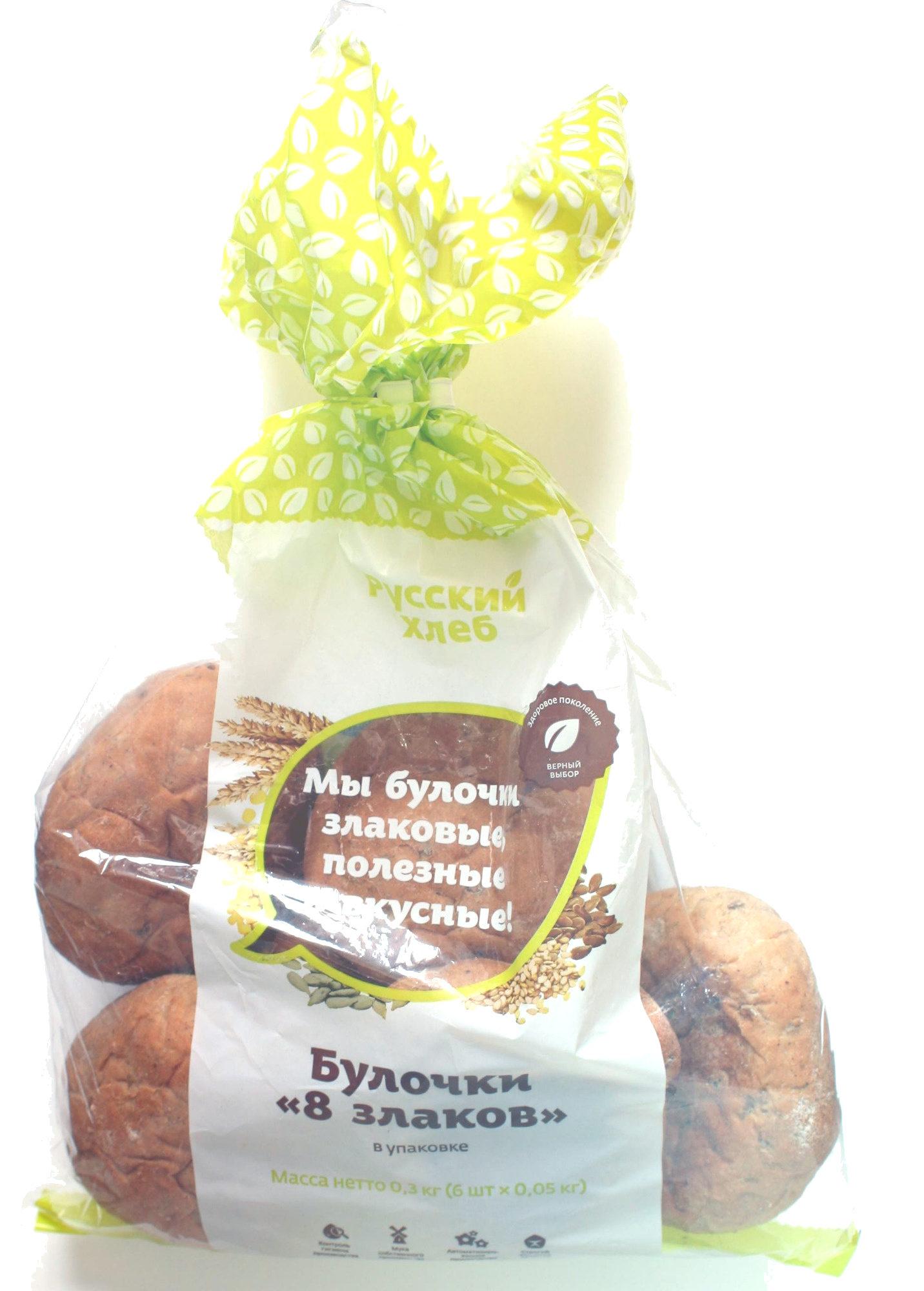 Булочки «8 злаков» - Product - ru
