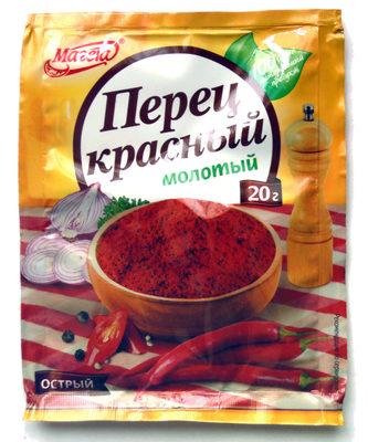 Перец красный молотый - Product - ru