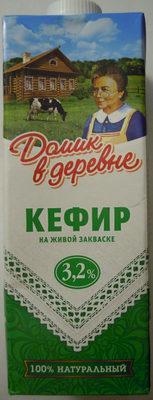 Кефир на живой закваске 3,2 % - Product - ru