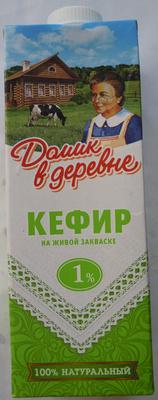 Кефир на живой закваске 1 % - Product - ru