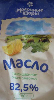 Масло Традиционное сладко-сливочное 82,5 % - Product