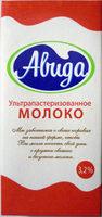 Ультрапастеризованное молоко 3,2% - Produit