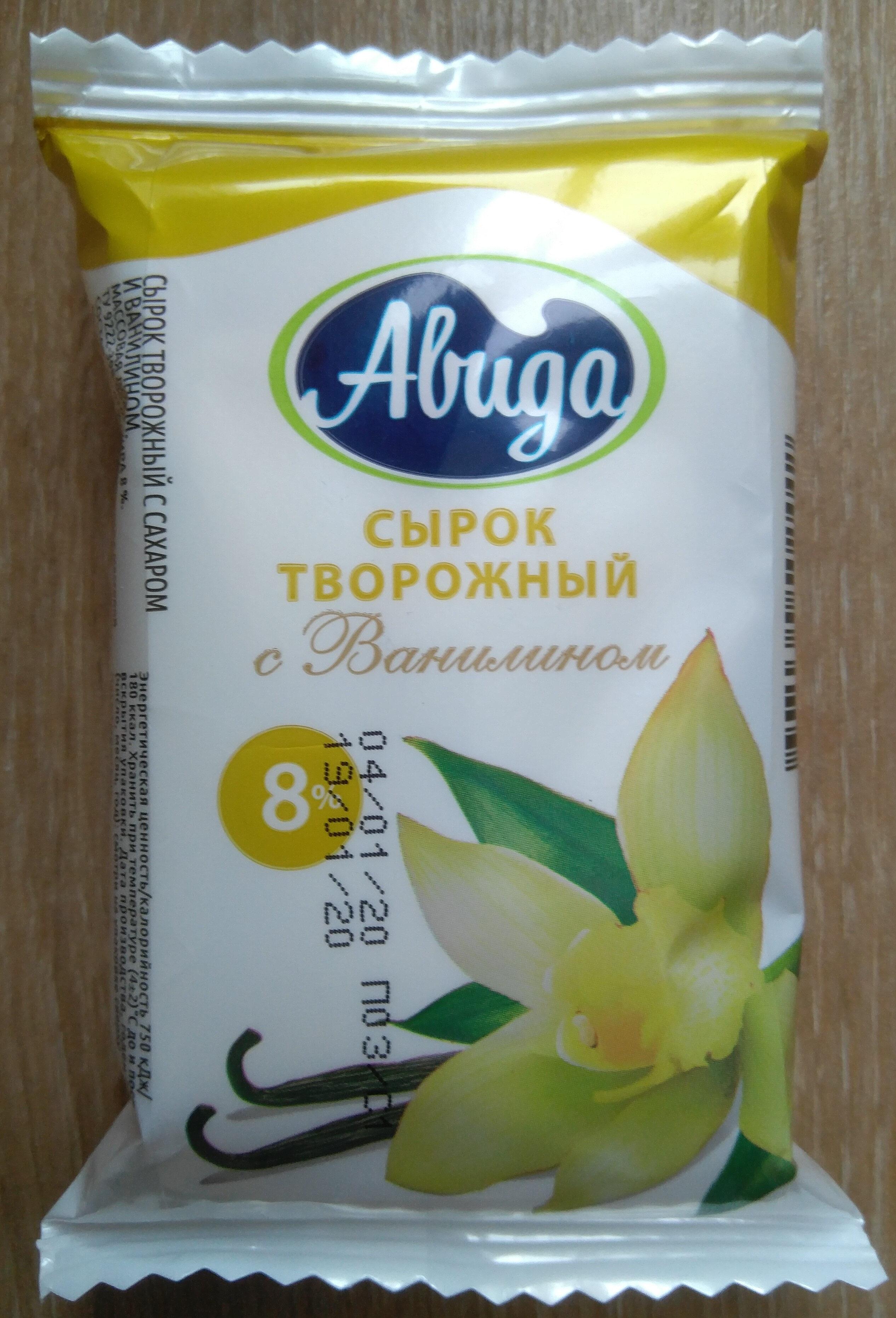 Сырок творожный с сахаром и ванилином - Product - ru