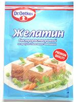Желатин быстрорастворимый - Produit - ru