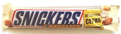 Snickers® с миндалем - Продукт