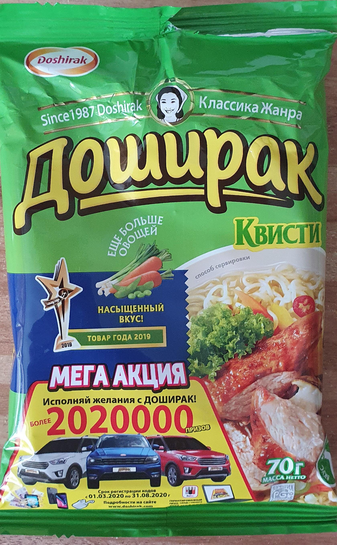 Доширак Квисти - Продукт - ru