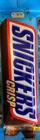 Snickers Crisp - Produkt - de