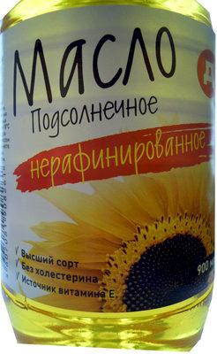 Масло Подсолнечное нерафинированное - Продукт