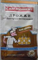 Дрожжи быстродействующие «Саф-Момент» с ароматом ванили для сдобы - Produit - ru