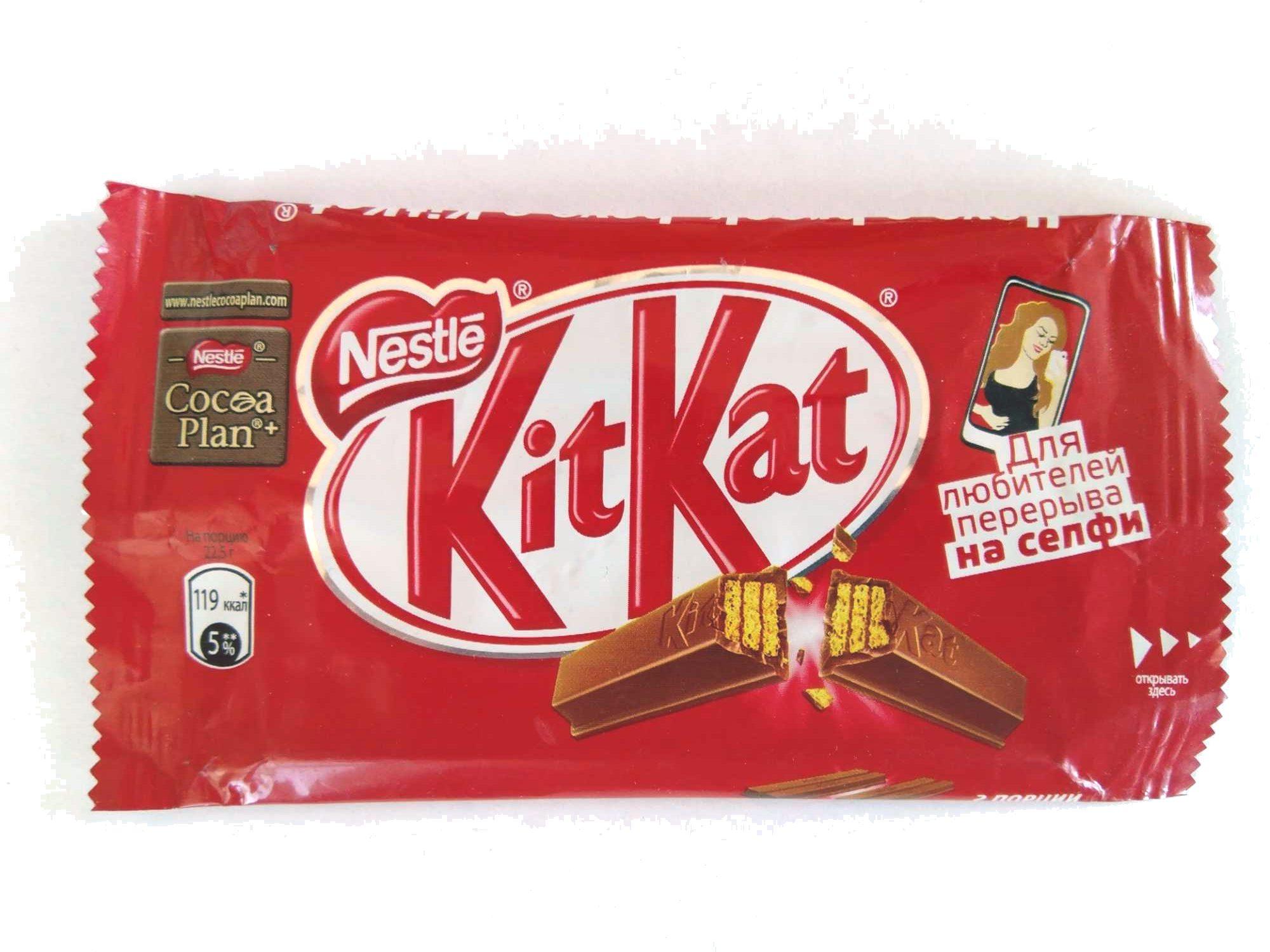 Kit Kat - Продукт - ru