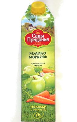 Нектар с мякотью яблоко-морковь - Product