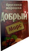 Морс «Добрый» «Брусника морошка» - Product - ru