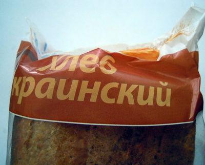 Хлеб Украинский - Продукт