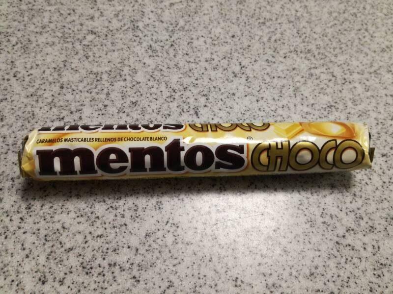 Caram Mentos Stick Choco White - Producte - es