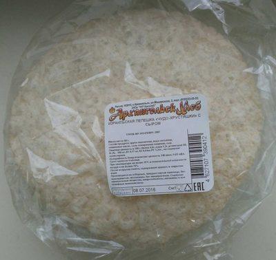 Израильская лепёшка «Чудо-хрустяшки» с сыром - Продукт - ru