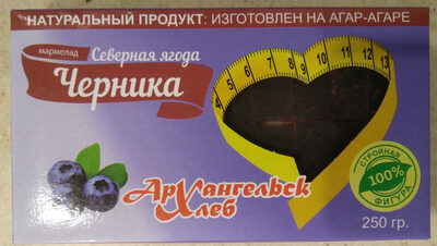"Мармелад ""Северная ягода"" (черника) - Продукт - ru"