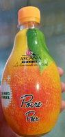 Limonade Poire à base d'eau de montagne - Produit - fr