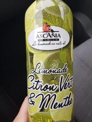 Limonade Citron Vert Et Menthe Ascania - Produit - fr