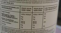 Limonade Citron Vert Et Menthe Ascania - Informations nutritionnelles - fr