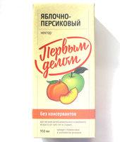 Яблочно-персиковый - Product