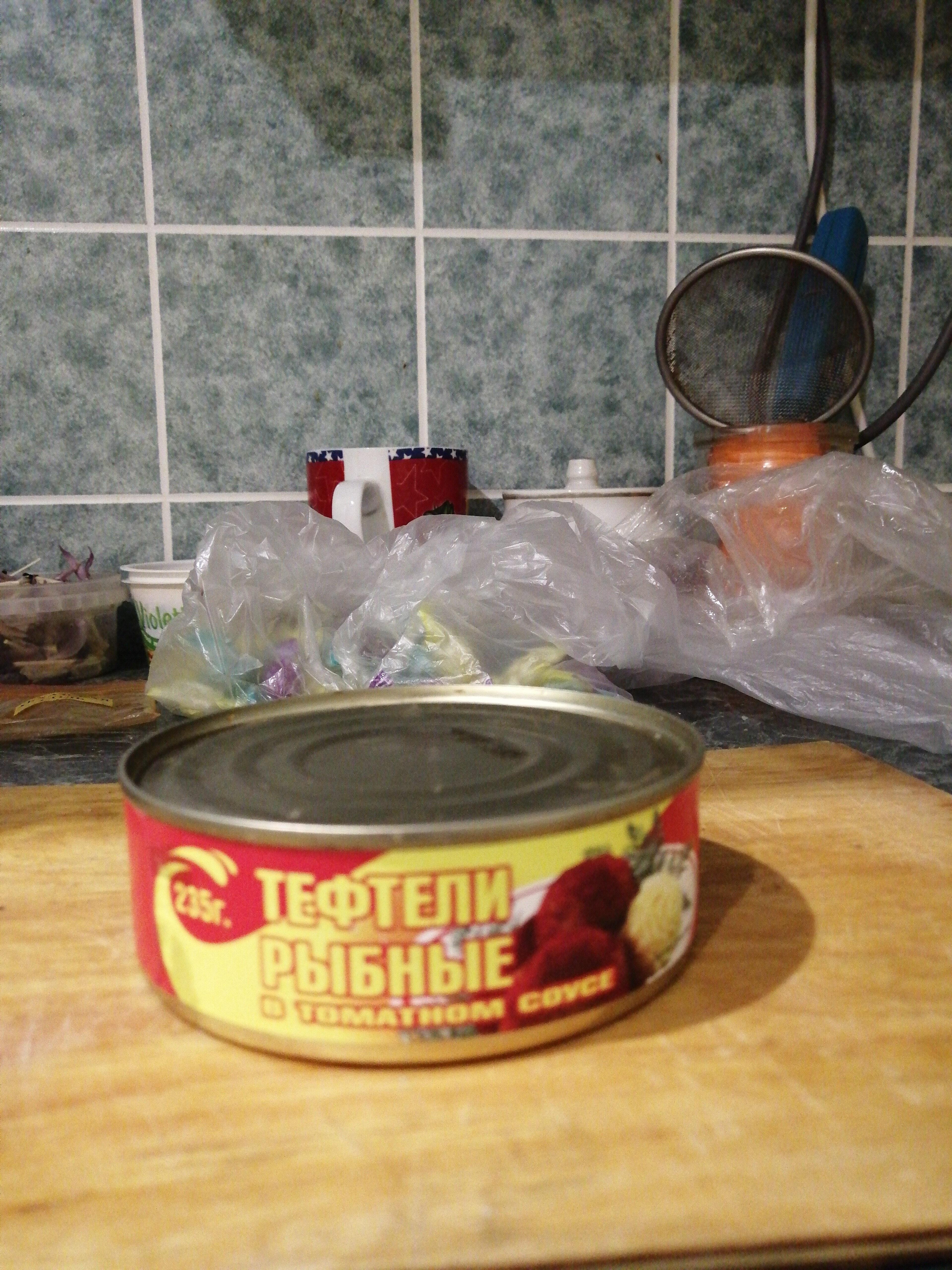 Тефтели рыбные в томатном соусе - Product