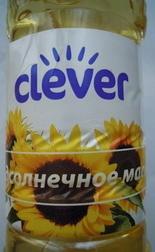 Подсолнечное масло «Clever» - Product - ru
