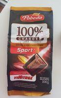 100% CHARGED Extra dark chocolate - Продукт - en