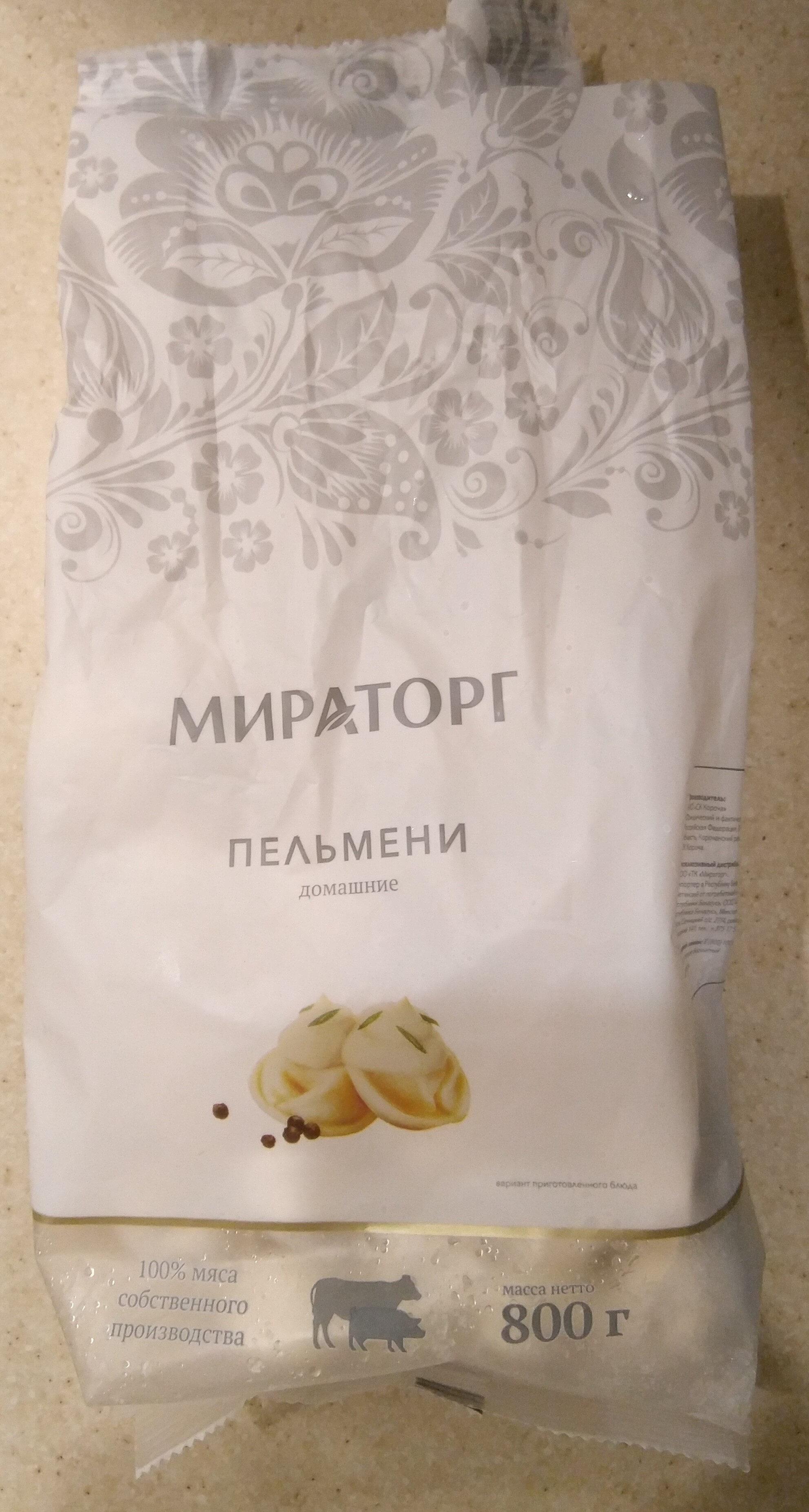 """Пельмени """"Домашние"""" - Продукт"""