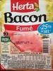 Bacon, Fumé (- 25 % de Sel) 10 Tranches - Produit