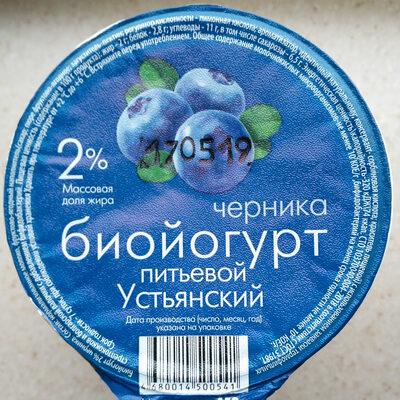 Биойогурт 2% черника - Ингредиенты