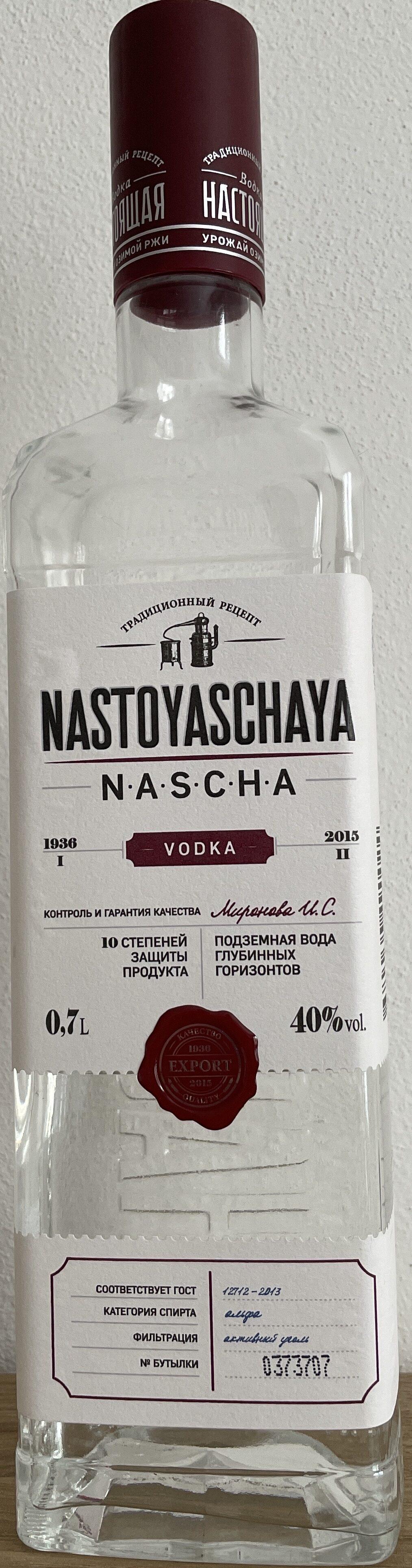 Nastoyaschaya Vodka - Produit - de