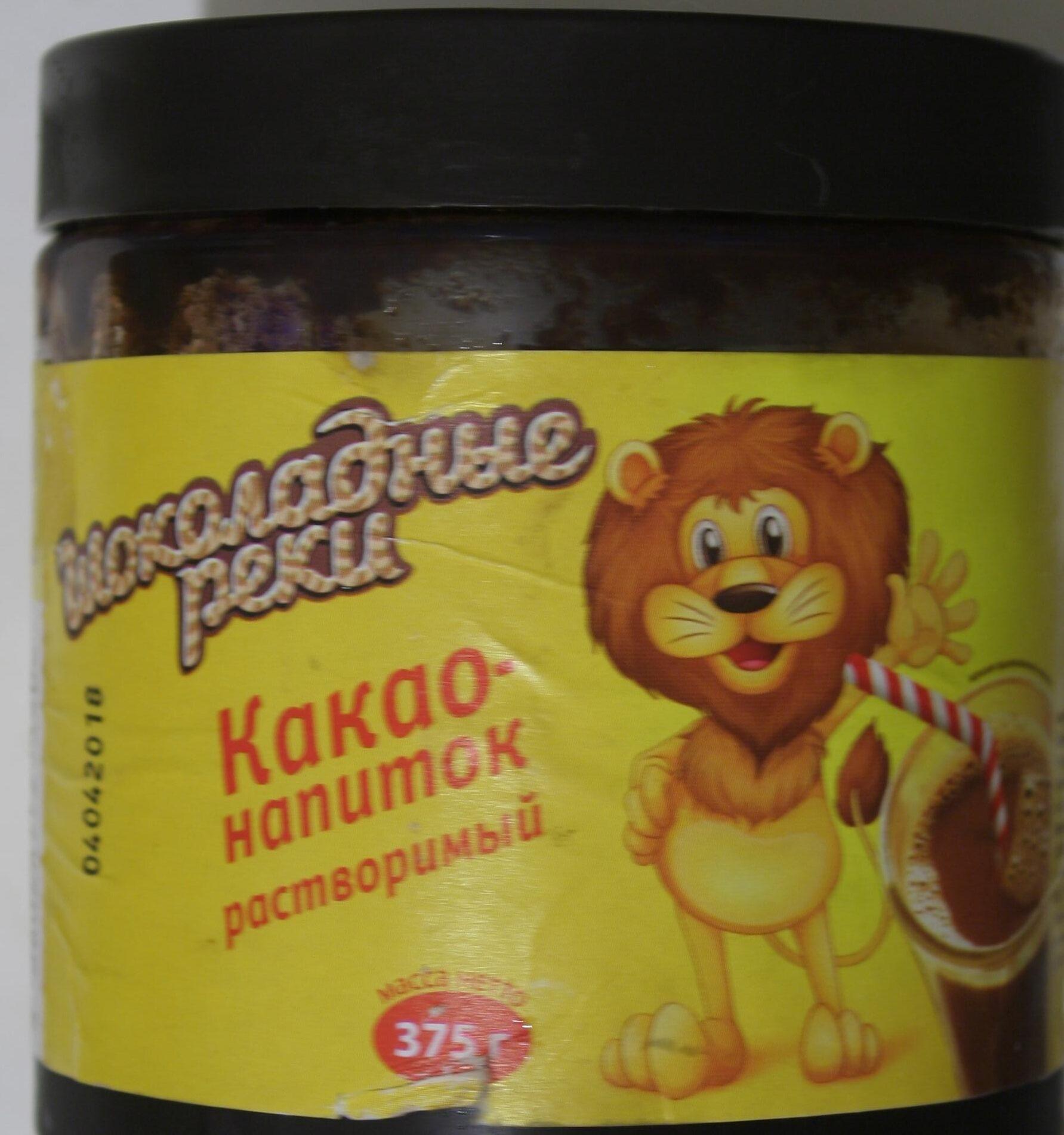 Какао-напиток растворимый - Product - ru