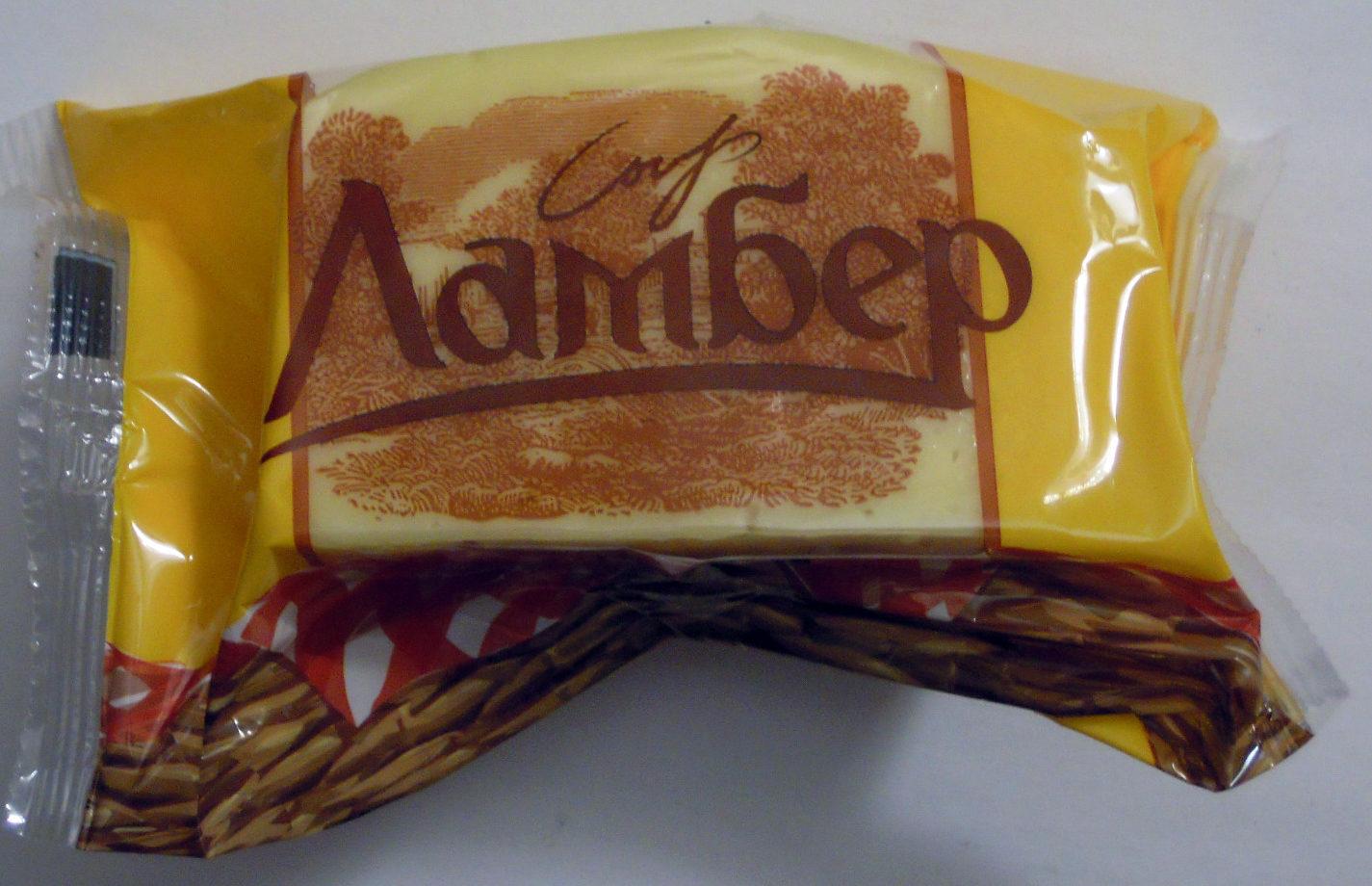 Сыр Ламбер - Product - ru