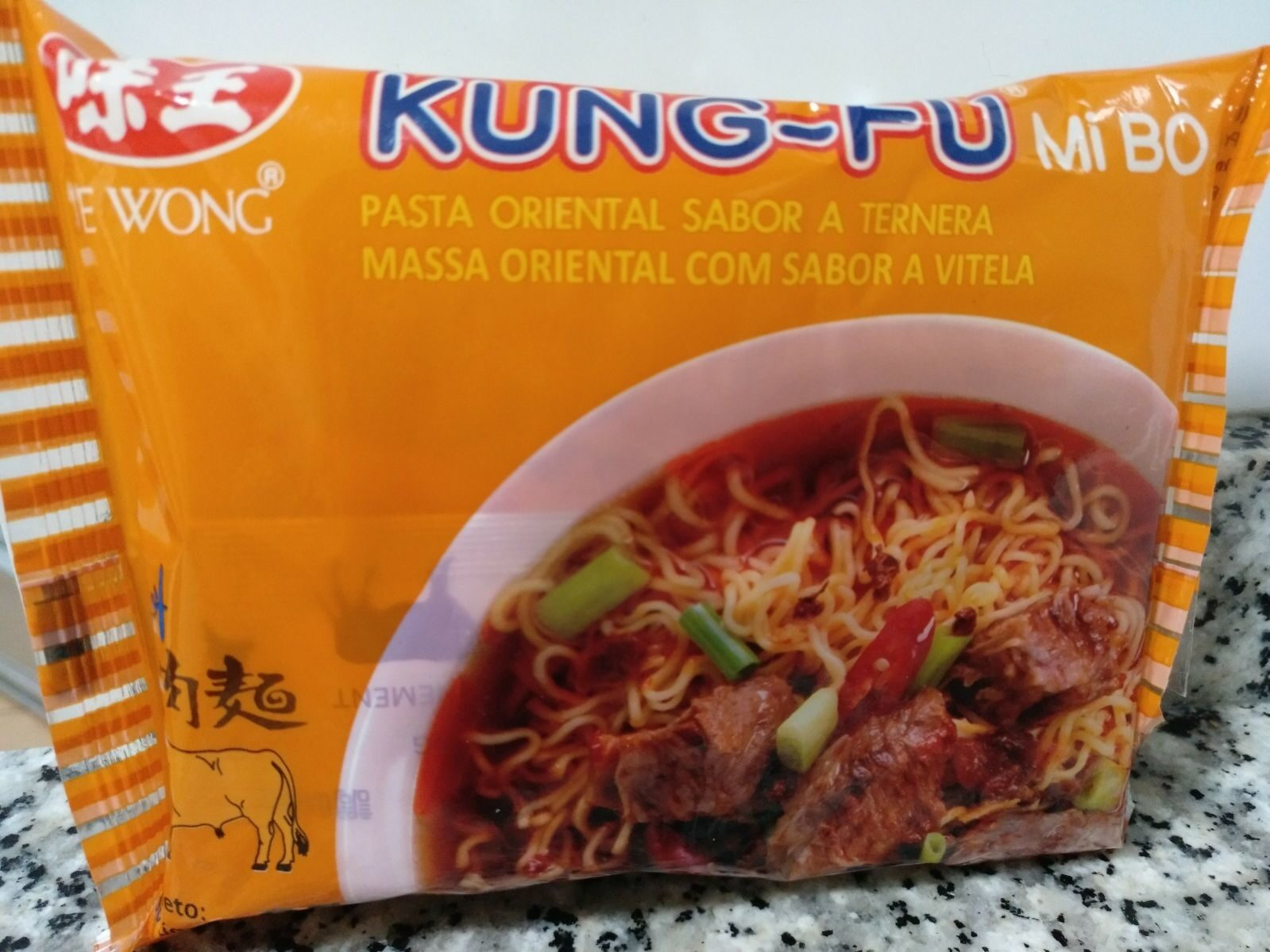 Instant Noodles - Beef flavour - Producte - es