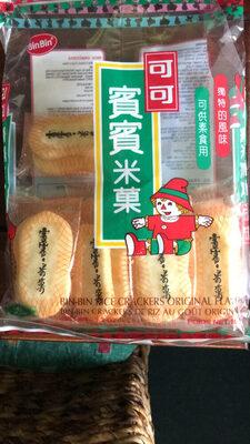 BinBin Rice Crackers 150g - Produit