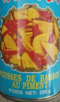 Pousses de bambou  au piment - Product