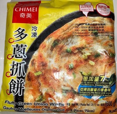 Fluffy green onion pancake - Product - en